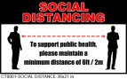 CT0001-SOCIAL DISTANCE-36x24 in